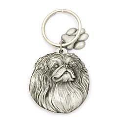 (Pekingese Keychain)