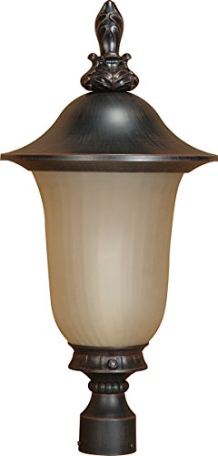 Outdoor Lamp Post With Photocell - 7
