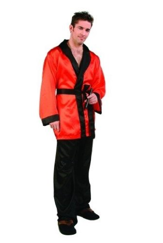 Playboy Hugh Hefner Costumes (Smokers Jacket - Adult Standard Costume)