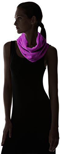 Turtle Fur Women's Heavyweight Polartec Thermal Pro Stria Fleece Cowl Neck Warmer, Violet, One Size