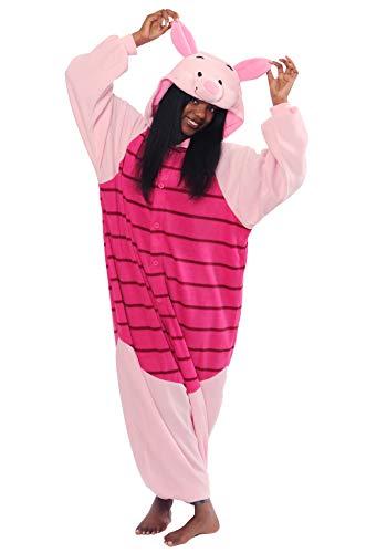 Piglet Kigurumi,Pink,Standard -