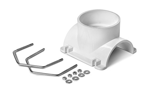 Oatey 43795 PVC Saddle Tee Kit, 4-Inch x 4-Inch (Tap Saddle)