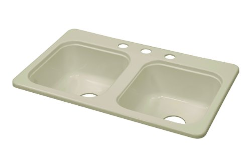 Lyons Industries Dks09a 3 375 Designer Biscuit 29 Inch By 17 Inch Recreational Vehicle Mobile Home Acrylic 7 25