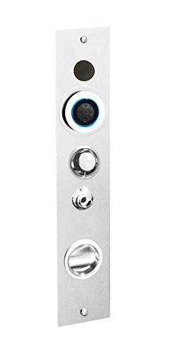 Serene Steam ES03-BN Luxury Home Shower Steam System, Build In Premium Bluetooth Audio Includes Aromatherapy Feature , No Electricity/Generator Needed (Brushed Nickel)