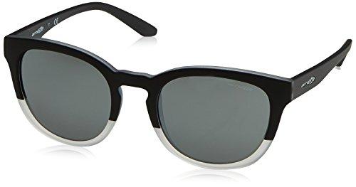 CUT Crystal Matte AN4230 Greymirrorsilver Arnette Black BACK Sonnenbrille Matte Noir U5xPqRwH