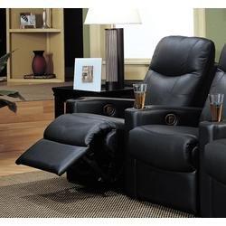 Coaster Home Furnishings 7537EX Contemporary Recliner, Black