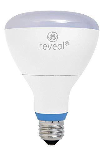 (GE Lighting 83574 Reveal LED 12-Watt (65-watt Replacement), 650-Lumen BR30 Spotlight Bulb with Medium Base, Reveal, 3-Pack)