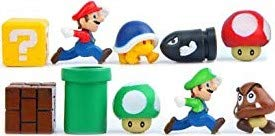 Super Mario Fridge Magnets - 10 PCS Refrigerator Magnet Kitchen Kit Arts and Crafts, Office White Board Decoration, Children's ()