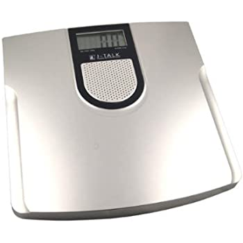Taylor Electronic Glass Talking Bathroom Scale 440 Lb Capacity Home Kitchen