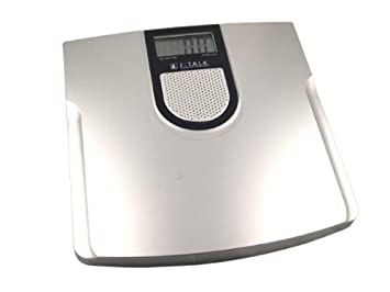 Gentil Jennings J Talk Talking Bathroom Scale, 440 Lb.