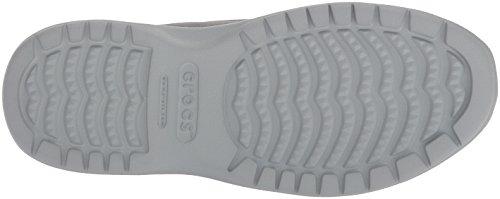Crocs Mens Santa Cruz Konvertibla Slip-on Dagdrivare Ljusgrå / Skiffergrå