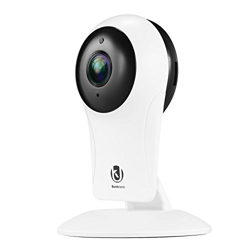 WallyGadgets 720P 2.4GHZ Home Camera, Indoor Wireless IP Security Surveillance System with Night vesion and Two-way Audio, for Home/Office/Baby/Pet Monitor with iOS, Android App by WallyGadgets