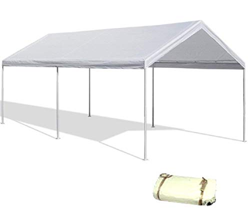 - DAY STAR SHADES 20'X30' White Canopy Replacement Cover Top Roof Tarp Shade Car Motorcycle Boat Jetski or Trade Show Canopy