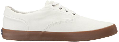 Sperry Top-sider Mens Wahoo Cvo Mode Sneaker Vit