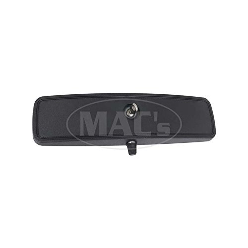 MACs Auto Parts 44-40346 Mustang Inside Rear View Mirror Assembly - Day-Night Mirror - Flat Arm Type Mount As Original ()