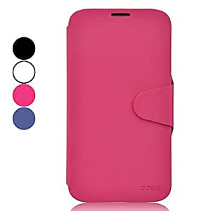 LZX High-end Protective PU Leather Case for Samsung Galaxy Mega 6.3 I9200 (Assorted Colors) , Purple