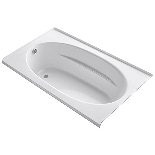 KOHLER K-1115-L-0 Windward 6-Foot Bath, White