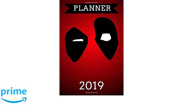 Planner 2019: Superhero Planner 2019, Daily Weekly Monthly ...