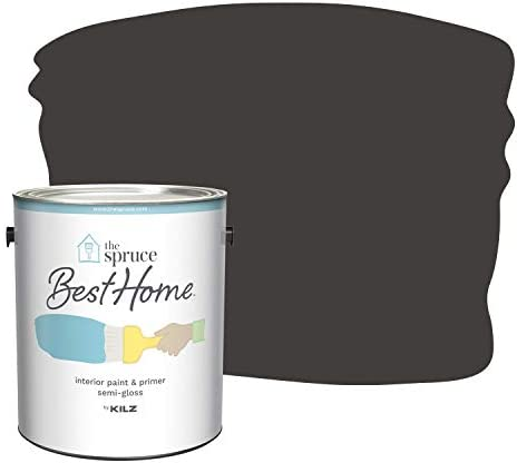 Amazon Com The Spruce Best Home By Kilz Interior Paint Primer In One Cold Brew Semi Gloss 1 Gallon Home Improvement