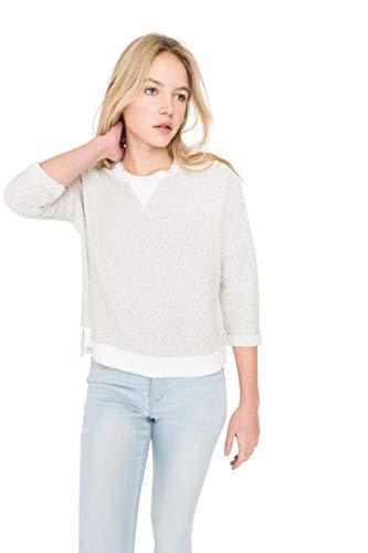 Pullover Sleeve 3/4 (Ardene - Women's - Hoodies & Sweatshirts - 3/4 Sleeve Sweatshirt Large -(8A-AP02809))