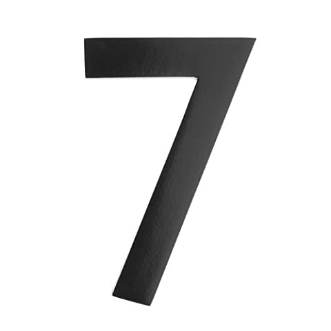 Architectural Mailboxes Five Inch Black Floating House Number 7 (Architectural Mailboxes Saratoga)