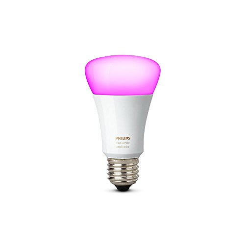 Philips Hue White and Color Ambiance 3rd Generation A19 60W Equivalent Dimmable LED Smart Bulb (Compatible with Amazon Alexa, Apple HomeKit, and Google Assistant) by Philips Lighting Company (PHDM9) (Image #1)
