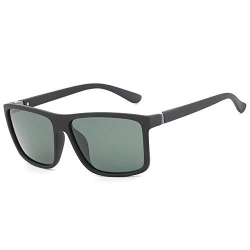 Hombre Polarizados Gafas Lentes Sol De De De Sol De Gafas black Gafas Gafas green Masculina Sol para FKSW Accesorios De Moda z7dzq0