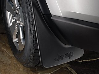 (2011-2015 Jeep Grand Cherokee Front and Rear Deluxe Molded Splash Guards-Set of 4)