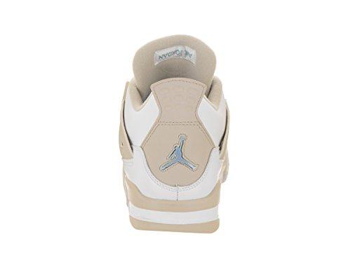Jordan Nike Barna Luft 4 Retro Gg Basketball Sko Hvit