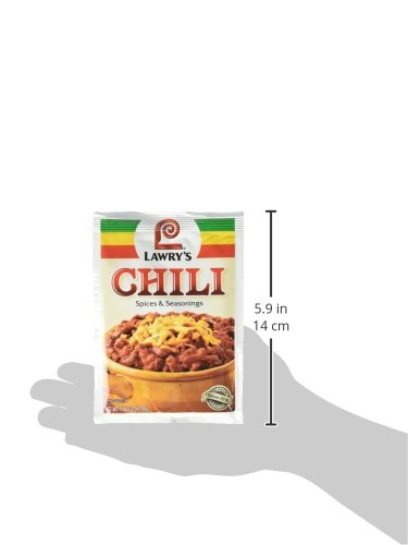 Lawry's Chili Seasoning Mix, 1.48 oz (Case of 12) by Lawry's (Image #6)