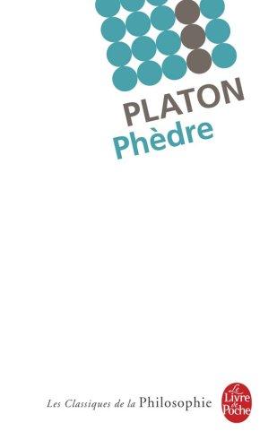 Phèdre Poche – 20 juin 2007 Platon Létitia Mouze Le Livre de Poche 2253082384
