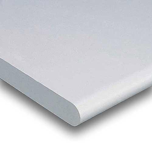 Plastic Laminate Safety Edge - Workbench Top - Plastic Laminate Safety Edge, Light Gray, 48