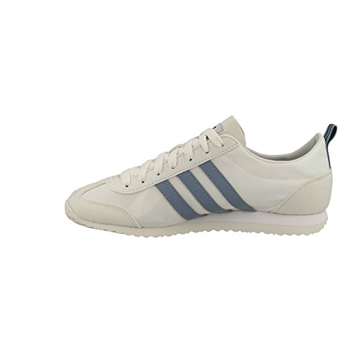adidas Vs Jog, Zapatillas de Gimnasia Para Hombre Blanco (Ftwr White/raw Grey S18/crystal White S16)