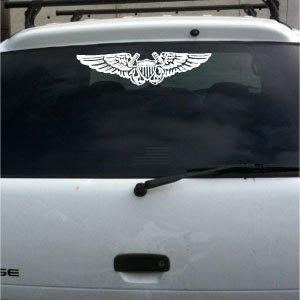 Flight Officer Wings (Naval Flight Officer NFO vinyl decal)