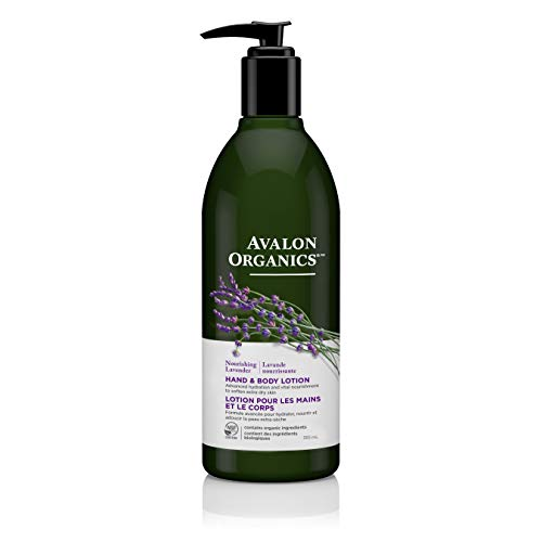 - Avalon Organics Nourishing Lavender Hand & Body Lotion, 12 oz.