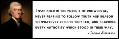 Wall Quote Thomas Jefferson I Was Bold In The Pursuit Of