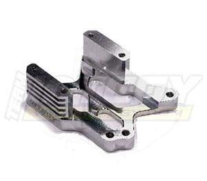 Integy RC Model Hop-ups T6977SILVER HD Engine Mount for HPI Savage XL & X 4.6 RTR