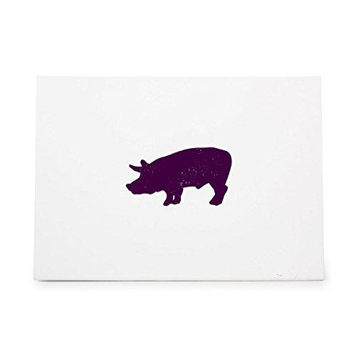 Pig 3 Style 2233 Rubber Stamp Shape great for Scrapbooking, Crafts, Card Making, Ink Stamping Crafts