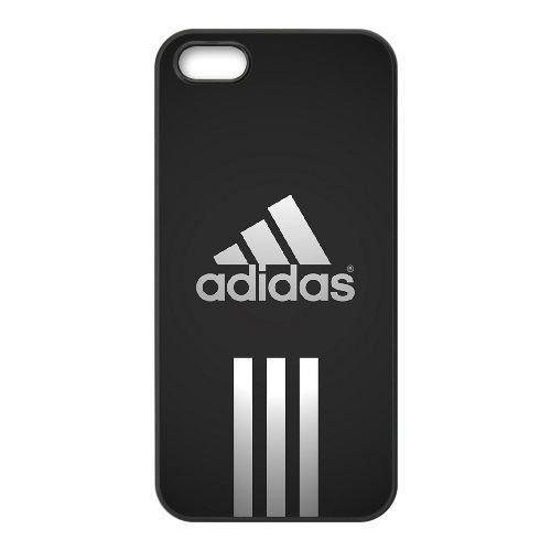 Adidas Logo_002 TPU Cell Phone Case For iphone 5 5s SE Black