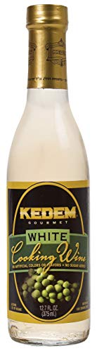 Kedem White Cooking Wine, 12.7oz Bottle, Gluten Free, Kosher (Best White Wine For Cooking)