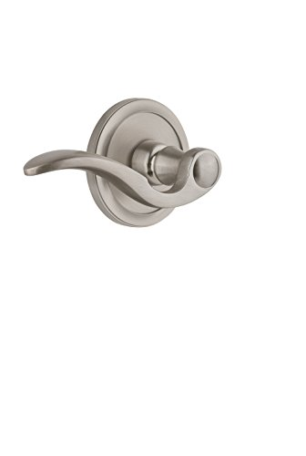 - Grandeur 813396 Circulaire Rosette Passage with Bellagio Lever in Timeless Bronze, 2.75 Right-Handed