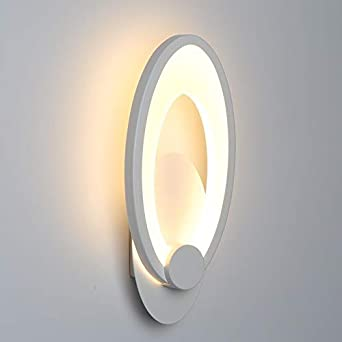 LED de luz de pared 11W Modern SimplicityBedroom Wall Light Sala de estar interior Comedor Decoración Iluminación Escalera Pasillo Luz Lámparas de pared: Amazon.es: Iluminación