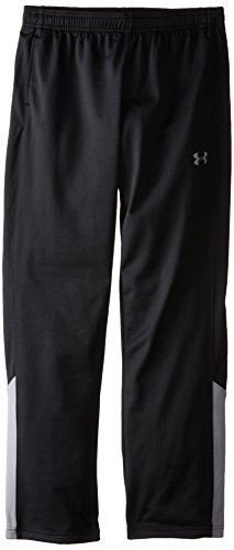 Under Armour Boys' Brawler Pants, Black /Steel, Youth ()