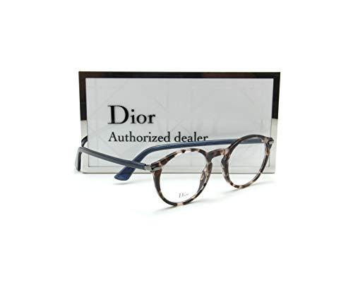 Dior-ESSENCE 5 Women Oval Eyeglasses Prescription RX-able Frame 00T4-49mm