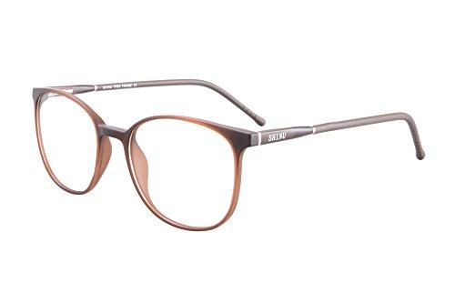 SHINU Anti Blue Light Photochromic Sunglasses with Transition Prescription Lens Myopia Glasses and Reading - Prescription Transition Lenses