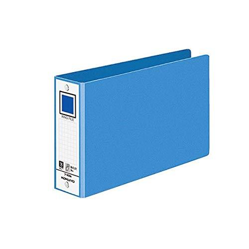 コクヨ リングファイル 色厚板紙表紙B6ヨコ 2穴 330枚収容 背幅53mm 青 フ-409NB 1セット(40冊) 生活用品 インテリア 雑貨 文具 オフィス用品 ファイル バインダー その他のファイル 14067381 [並行輸入品] B07P3K257D