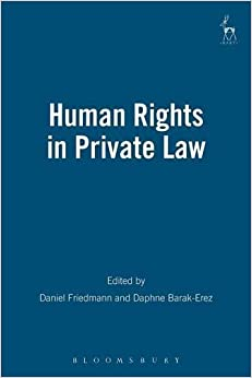 Human Rights in Private Law (Revised)