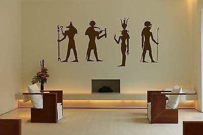 Wall Decal Vinyl Sticker Egypt Gods Anubis Thoth Hathor Ra Lords KingsSun bo2573