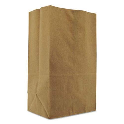 BAGSK1857 - 1/8 Bbl 57 Squat Paper Bag, Natural Grocery Sack, Brown, 500-bundle