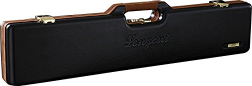 Longoni Cue Case Leather 2B/4S Black by Longoni